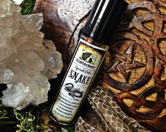 SNAKE SPIRIT OIL - Anointing Ritual Oil, Animal Totem Oil, Channeled Insect Medicine