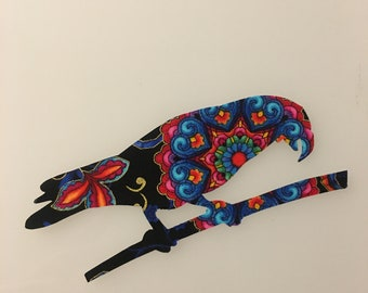 Parrot Iron-on Patch