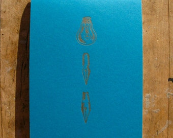 The good idea notebook - Letterpress