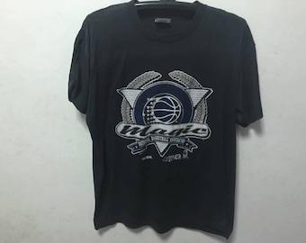 Vintage Orlando Magic Shirt Size XL Free Shipping 50 Cotton Thin shirt NBA Basketball Shirt Magic 90s