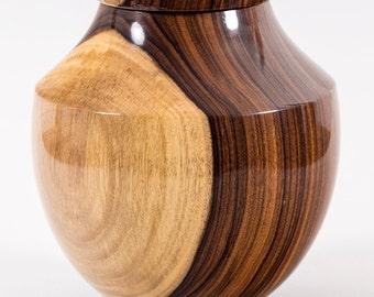 Bolivian Rosewood Vase  B-1279
