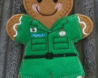 Paramedic Keyring / Bag charm