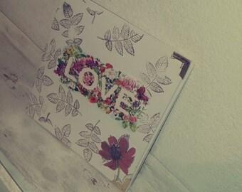 Floral photo album