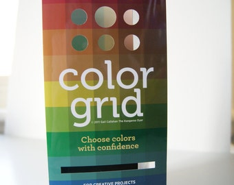 "Color Grid by Gail Callahan ""The Kangaroo Dyer"""