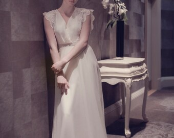 Ella 1940's Inspired Bridal Gown