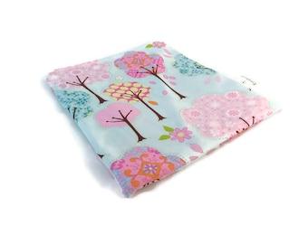 Whimsical Tree Snack Bag || Reusable Sandwich Bag || Reusable Snack bag || Eco Friendly Gift || Zippered Pouch || Food Safe Bag