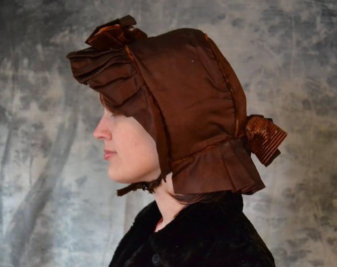 Copper Colored Victorian Bonnet
