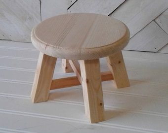 Hand Painted Stool Etsy