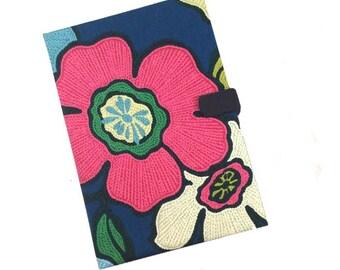Samsung Tab 3 Kindle HDX Kobo Nook Tablet Case Ipad Case Bold Floral iPad Case Magnetic Closure