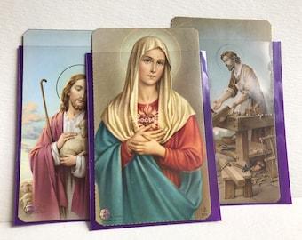 Vintage Paper / Catholic Ephemera Cards