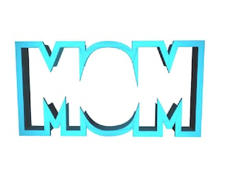 Mom Cookie Cutter Mothers Day Cookie Cutter