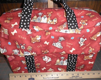 Doggie Diaper Bag with Changing Pad