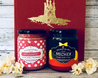 True Mousey Love Special | Minnie & Mickey Candle Deal