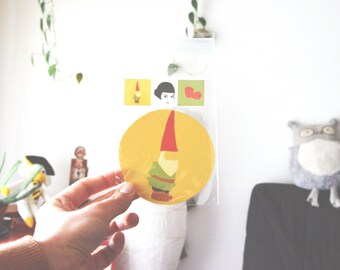 Gnome - Amelie Sticker