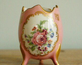 Porcelaine de France Cracked Egg Vase