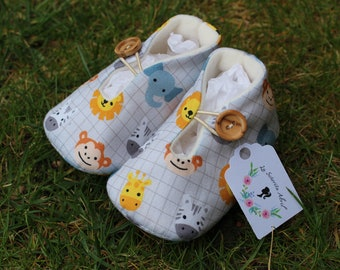 Zoo Baby shoes - Several Sizes