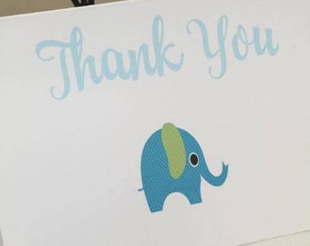 Pack of 10 Thank You Card New Baby, Christening,  Birthday,  thank you card baby, thank you card boy, thank you card girl
