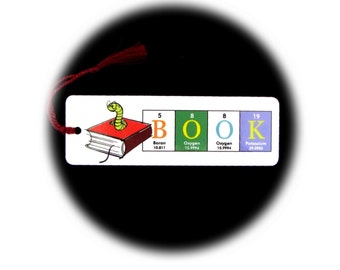 Bookworm Bookmark ElementeesTM for the nerd in you