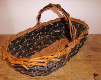 Antique French Market Basket