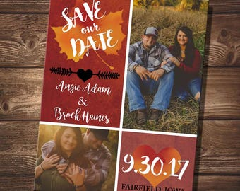 Fall Save Our Date