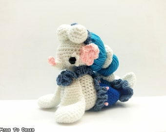 Crochet Primarina Inspired Chibi Pokemon