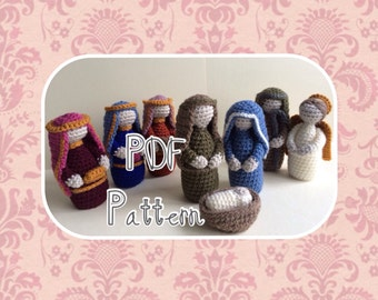 Crochet Nativity Pattern
