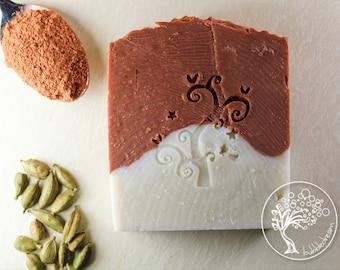 Red Clay Cardamom Soap - Bubbledream Digital Art