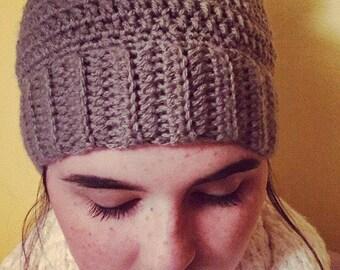 Messy Bun Crochet Hat
