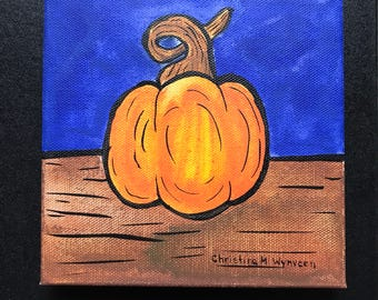 Creative Pumpkin: Blue Velvet