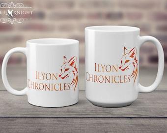 Ilyon Chronicles Orange Fox Coffee Mug