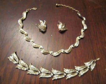 Napier Necklace, Bracelet and Earrings