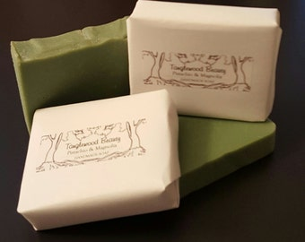 Pistachio & Magnolia- Handmade Soap with Shea and Cocoa Butter