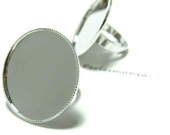 Finish jewelry 1 ring 30mm tray PP
