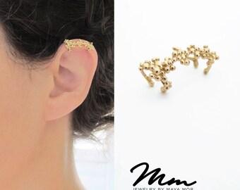 Ear Cuffs No Piercing, non pierced cartilage Earring, Ear Cuff non pierced, cartilage Earcuff, no pierce ear cuff, Nickel Free