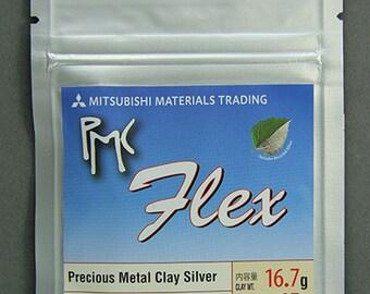 PMC - Flex Precious Metal Clay Silver (15g pkg)  (PMCFLEX-15)