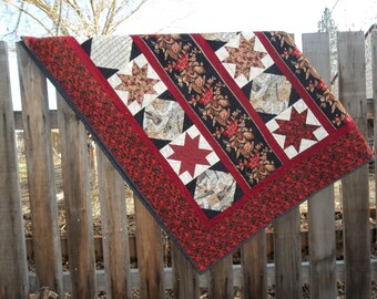 Patchwork Bed sized quilt, Starlite Symphony