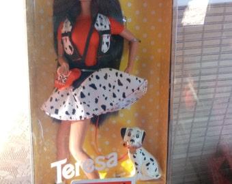 Mattel 101 Dalmatians Teresa Barbie Doll vintage