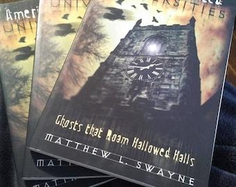 America's Haunted Universities book