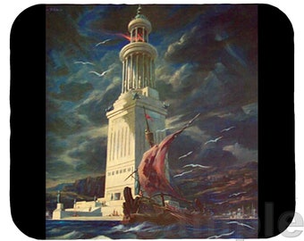 Mouse Pad; Lighthouse Of Alexandria