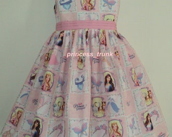 NEW Handmade Barbie Princess And The Pauper Anneliese Patchworks Dress Deluxe Custom Size