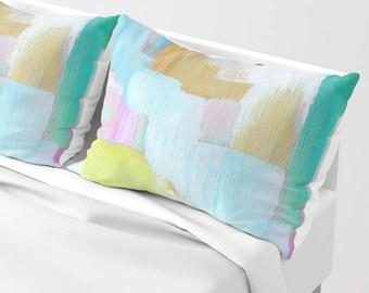 Pillow Shams - standard shams - king sham - set of TWO bed shams, Free Shipping