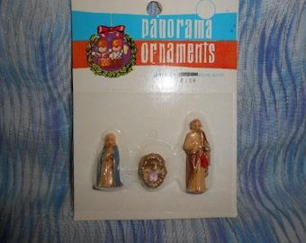 Panorama Miniatures Nativity Holy Family Set-Sealed - Old Store Stock
