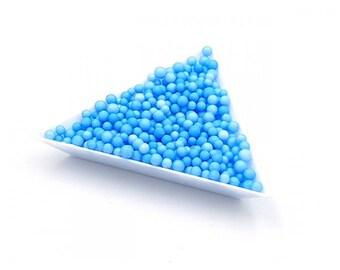 5000 polystyrene 3mm blue beads