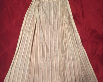 Apron worn by JESSICA LANGE in the film Rob Roy