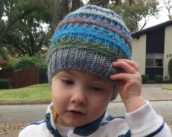 Toddler knit hat