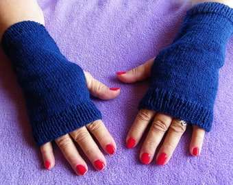 FINGERLESS gloves gift Lamartine