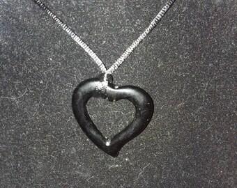 Heart Pendant of Obsidian
