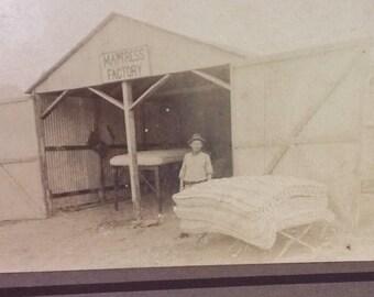 Original Photograph of Mattress Factory