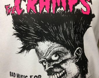 The cramps, bad music for bad people T-shirt