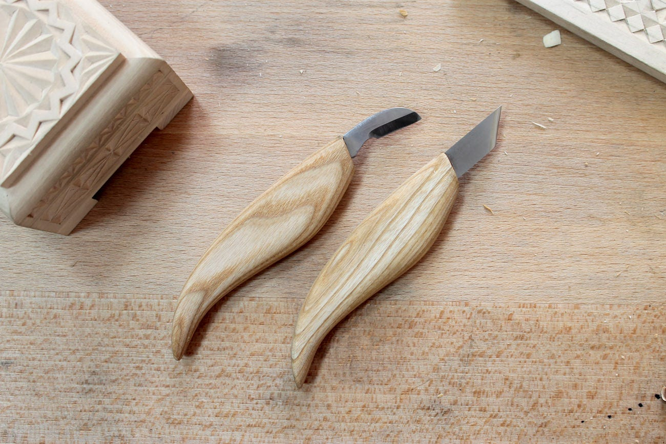 Chip carving knives set wood carving tools set woodcarving